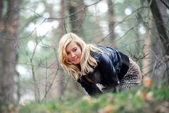 blond flicka Royaltyfri Bild