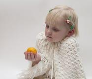 blond flicka little Arkivbilder