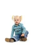 blond flicka little Fotografering för Bildbyråer