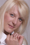 Blond girl Royalty Free Stock Photo