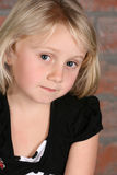 Blond Girl Royalty Free Stock Photography