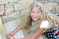 Blond girl Stock Photography