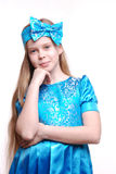 Blond girl, beautiful child Royalty Free Stock Photography