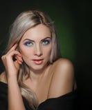 Blond Girl Stock Photo