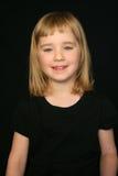 Blond Girl Portrait Stock Image