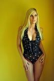 Blond girl posing Royalty Free Stock Photo