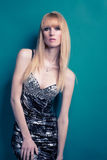 Blond glamour girl Stock Image