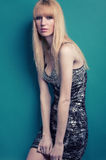 Blond glamour girl Stock Photography