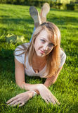 Blond grass sun Stock Image