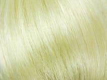 blond hårtextur för bakgrund Royaltyfria Foton