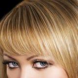 Blond Haar royalty-vrije stock fotografie
