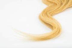 Blond haarstuk Royalty-vrije Stock Afbeelding
