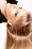 Blond hair Royalty Free Stock Images