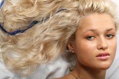 Blond hair Stock Photography