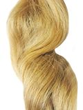 Blond hair closeup Royalty Free Stock Image