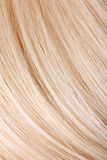Blond hair extension Royalty Free Stock Images