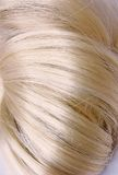 Blond hair knot Royalty Free Stock Photos