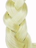 Blond hair praid Royalty Free Stock Photography