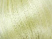 Blond hair texture background Royalty Free Stock Photos