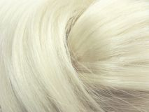 Blond hair texture background Stock Photos