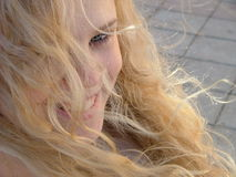 Blond haired beauty Royalty Free Stock Images