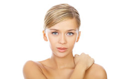 Blond haired Beauty Royalty Free Stock Photos