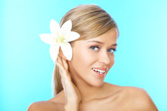 Blond haired Beauty Stock Photos