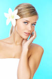 Blond haired Beauty Royalty Free Stock Photo