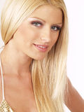 Blond hot model 11288 Royalty Free Stock Image
