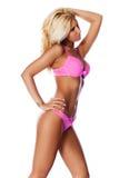 Blond im Bikini Stockfotografie