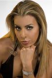 Blond im Sudio Lizenzfreie Stockbilder