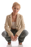 Blond Jacket5 Royalty Free Stock Photography