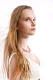 Blond jong meisje Royalty-vrije Stock Afbeelding