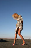 blond kobieta fotografia stock