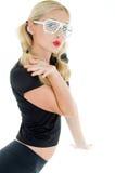 Blond kobieta. Zdjęcie Stock