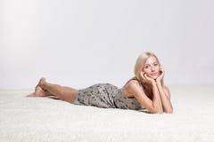 blond kobieta Zdjęcie Stock