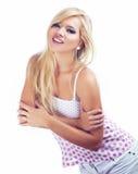 blond kobiety Zdjęcia Stock