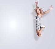 blond kvinna Royaltyfri Foto