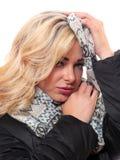 blond kvinna Arkivfoton