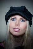 Blond lady Stock Image