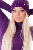 blond lady Royalty Free Stock Image