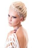 Blond lady Stock Photography