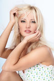 Blond lady Royalty Free Stock Photos