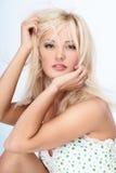 Blond lady Royalty Free Stock Photos