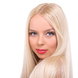 Blond lady Royalty Free Stock Images