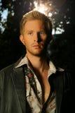blond lasowy facet Fotografia Stock