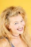 blond le kvinna Royaltyfri Foto