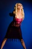 blond śliczny model Zdjęcia Royalty Free