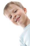 Blond little boy Stock Photos
