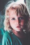 Blond little girl Royalty Free Stock Photos